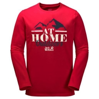 Футболка мужская AT HOME LONGSLEEVE Jack Wolfskin